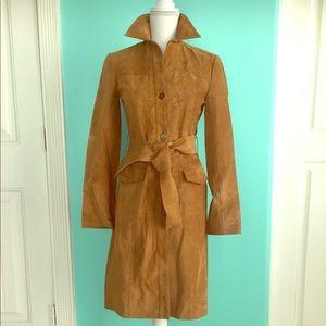 BCBGMAXAZRIA  100%Leather jacket